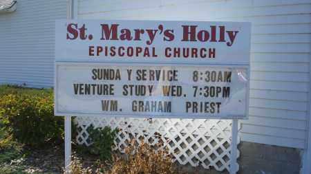 *HOLLY CEMETARY, CHURCH AT - Sheridan County, Nebraska   CHURCH AT *HOLLY CEMETARY - Nebraska Gravestone Photos
