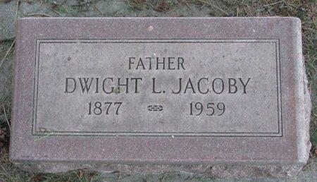JACOBY, DWIGHT L. - Sheridan County, Nebraska | DWIGHT L. JACOBY - Nebraska Gravestone Photos