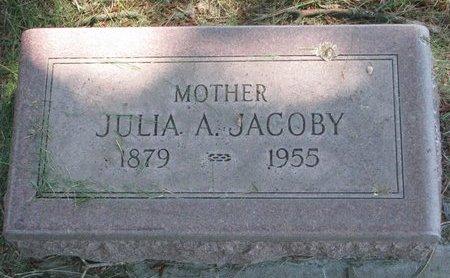 JACOBY, JULIA A. - Sheridan County, Nebraska | JULIA A. JACOBY - Nebraska Gravestone Photos