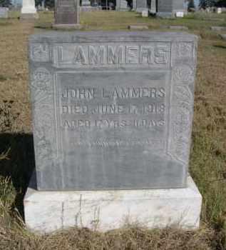 LAMMERS, JOHN L. - Sheridan County, Nebraska | JOHN L. LAMMERS - Nebraska Gravestone Photos
