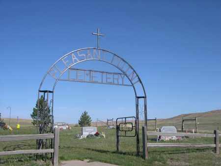 *PLEASANT POINT CEMETERY, ENTRANCE TO - Sheridan County, Nebraska   ENTRANCE TO *PLEASANT POINT CEMETERY - Nebraska Gravestone Photos