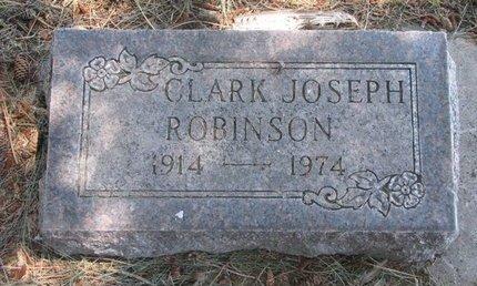 ROBINSON, CLARK JOSEPH - Sheridan County, Nebraska | CLARK JOSEPH ROBINSON - Nebraska Gravestone Photos