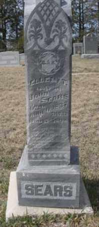 SEARS, ELLEN T. - Sheridan County, Nebraska | ELLEN T. SEARS - Nebraska Gravestone Photos