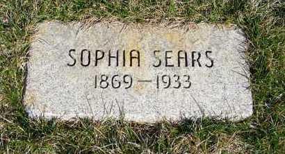 SEARS, SOPHIA - Sheridan County, Nebraska | SOPHIA SEARS - Nebraska Gravestone Photos