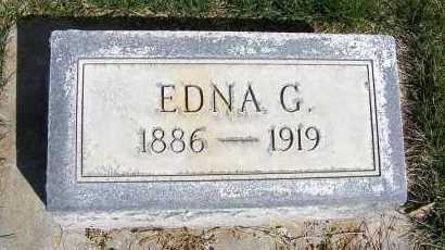 WESTOVER, EDNA G. - Sheridan County, Nebraska   EDNA G. WESTOVER - Nebraska Gravestone Photos