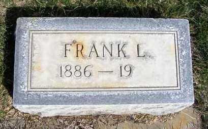 WESTOVER, FRANK L. - Sheridan County, Nebraska | FRANK L. WESTOVER - Nebraska Gravestone Photos
