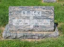 AMICK, CARL G. - Sherman County, Nebraska   CARL G. AMICK - Nebraska Gravestone Photos