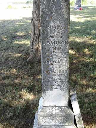BAUSCH, KATHARINE - Sherman County, Nebraska   KATHARINE BAUSCH - Nebraska Gravestone Photos