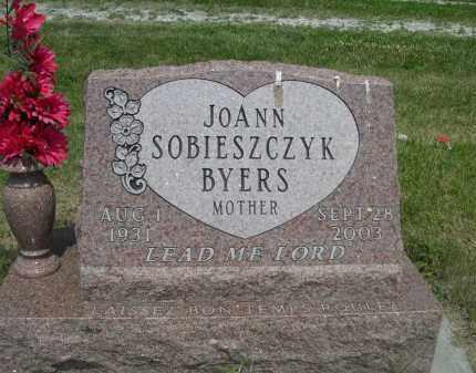 SOBIESZCZYK BYERS, JOANN - Sherman County, Nebraska | JOANN SOBIESZCZYK BYERS - Nebraska Gravestone Photos