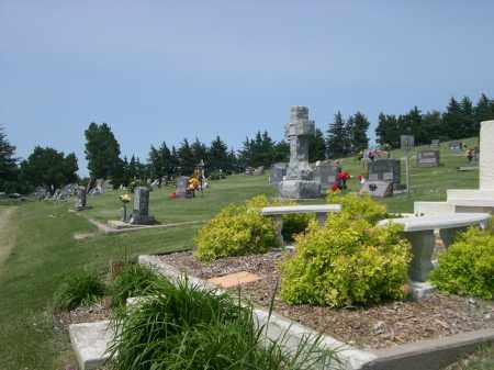 *EVERGREEN CEMETERY, VIEW OF - Sherman County, Nebraska | VIEW OF *EVERGREEN CEMETERY - Nebraska Gravestone Photos
