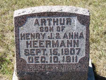 HEERMANN, ARTHUR - Sherman County, Nebraska   ARTHUR HEERMANN - Nebraska Gravestone Photos