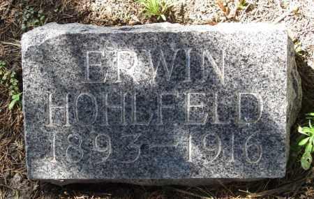 HOHLFELD, ERWIN - Sherman County, Nebraska | ERWIN HOHLFELD - Nebraska Gravestone Photos