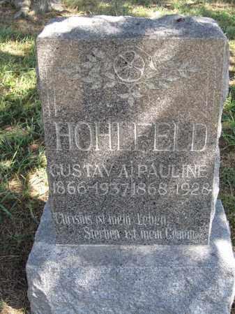 HOHLFELD, PAULINE - Sherman County, Nebraska | PAULINE HOHLFELD - Nebraska Gravestone Photos