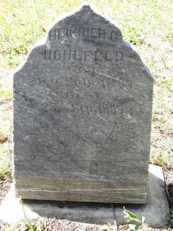 HOHLFELD, HENIRICH G. - Sherman County, Nebraska | HENIRICH G. HOHLFELD - Nebraska Gravestone Photos