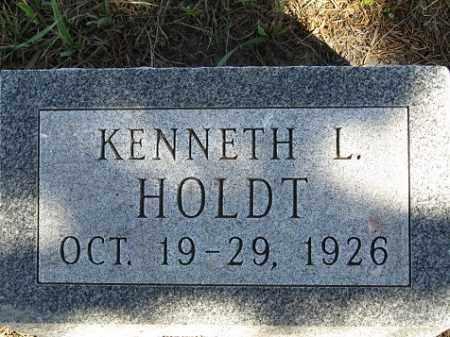 HOLDT, KENNETH L. - Sherman County, Nebraska | KENNETH L. HOLDT - Nebraska Gravestone Photos