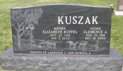 KUSZAK, CLEMENCE A. - Sherman County, Nebraska | CLEMENCE A. KUSZAK - Nebraska Gravestone Photos