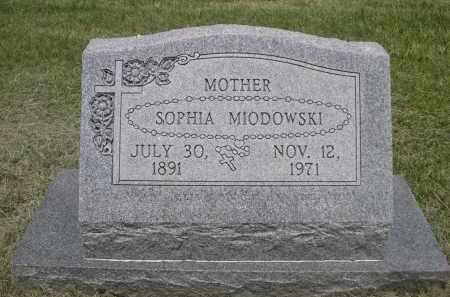 MIODOWSKI, SOPHIA - Sherman County, Nebraska | SOPHIA MIODOWSKI - Nebraska Gravestone Photos