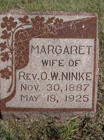 NINKE, MARGARET - Sherman County, Nebraska | MARGARET NINKE - Nebraska Gravestone Photos