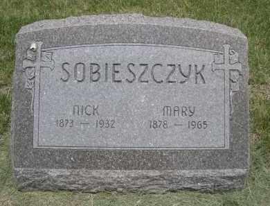 SOBIESZCYK, MARY - Sherman County, Nebraska | MARY SOBIESZCYK - Nebraska Gravestone Photos
