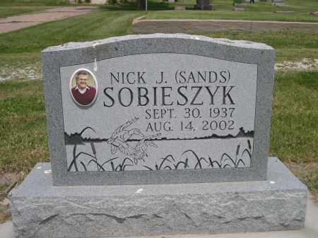 SOBIESZYK, NICK J. (SANDS) - Sherman County, Nebraska | NICK J. (SANDS) SOBIESZYK - Nebraska Gravestone Photos