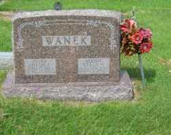 WANEK, VESTA - Sherman County, Nebraska | VESTA WANEK - Nebraska Gravestone Photos