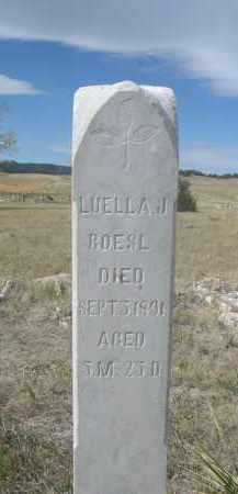 BOESL, LUELLA J. - Sioux County, Nebraska | LUELLA J. BOESL - Nebraska Gravestone Photos