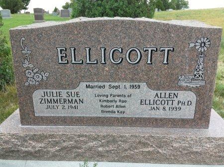 ELLICOTT, ALLEN - Sioux County, Nebraska | ALLEN ELLICOTT - Nebraska Gravestone Photos