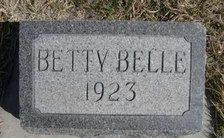ELLICOTT, BETTY BELLE - Sioux County, Nebraska | BETTY BELLE ELLICOTT - Nebraska Gravestone Photos