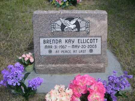 ELLICOTT, BRENDA KAY - Sioux County, Nebraska | BRENDA KAY ELLICOTT - Nebraska Gravestone Photos