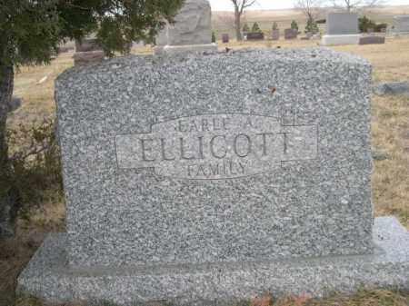 ELLICOTT, EARLE A. FAMILY - Sioux County, Nebraska | EARLE A. FAMILY ELLICOTT - Nebraska Gravestone Photos