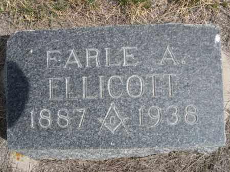 ELLICOTT, EARLE A. - Sioux County, Nebraska | EARLE A. ELLICOTT - Nebraska Gravestone Photos