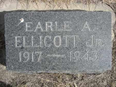 ELLICOTT, EARLE A. JR. - Sioux County, Nebraska | EARLE A. JR. ELLICOTT - Nebraska Gravestone Photos