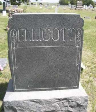 ELLICOTT, FAMILY - Sioux County, Nebraska | FAMILY ELLICOTT - Nebraska Gravestone Photos
