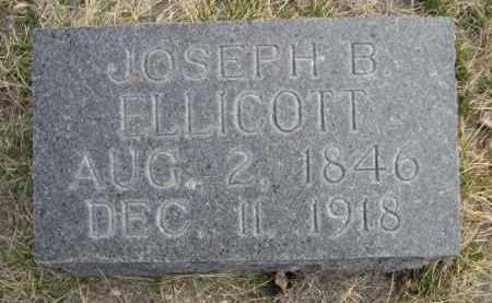 ELLICOTT, JOSEPH B. - Sioux County, Nebraska   JOSEPH B. ELLICOTT - Nebraska Gravestone Photos