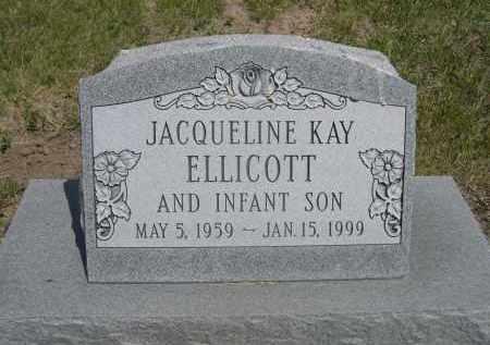 ELLICOTT, INFANT SON OF JACQUELINE KAY - Sioux County, Nebraska | INFANT SON OF JACQUELINE KAY ELLICOTT - Nebraska Gravestone Photos