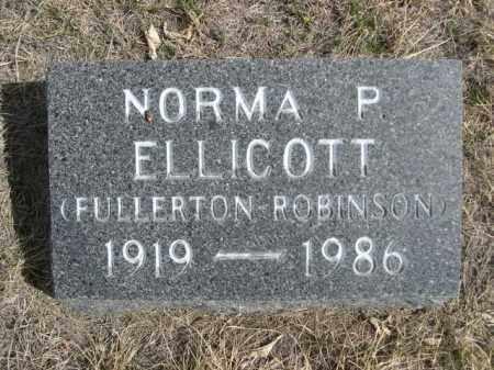 ELLICOTT, NORMA P. - Sioux County, Nebraska | NORMA P. ELLICOTT - Nebraska Gravestone Photos