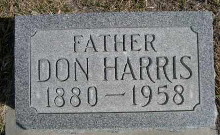 ELLICOTT, DON HARRIS - Sioux County, Nebraska   DON HARRIS ELLICOTT - Nebraska Gravestone Photos