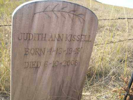 KISSELL, JUDITH ANN - Sioux County, Nebraska | JUDITH ANN KISSELL - Nebraska Gravestone Photos