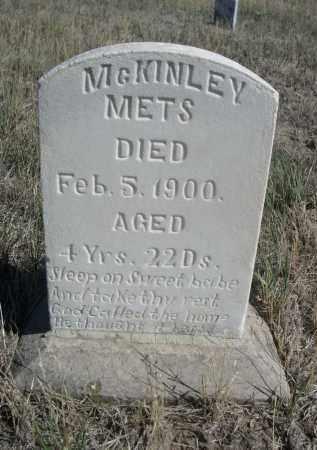 METS, MCKINLEY - Sioux County, Nebraska | MCKINLEY METS - Nebraska Gravestone Photos