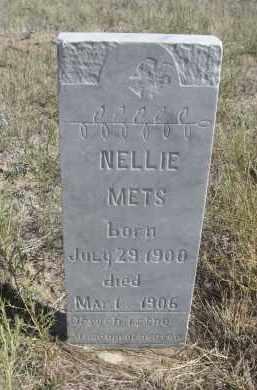 METS, NELLIE - Sioux County, Nebraska | NELLIE METS - Nebraska Gravestone Photos