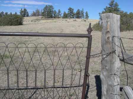 *UNION STAR CEMETERY, CLOSE UP OF GATE. - Sioux County, Nebraska | CLOSE UP OF GATE. *UNION STAR CEMETERY - Nebraska Gravestone Photos