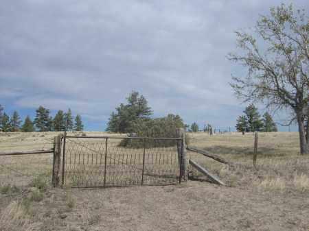 *UNION STAR CEMETERY, ENTRANCE GATE TO - Sioux County, Nebraska   ENTRANCE GATE TO *UNION STAR CEMETERY - Nebraska Gravestone Photos
