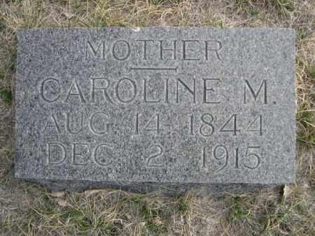 ELLICOTT, CAROLINE M. - Sioux County, Nebraska | CAROLINE M. ELLICOTT - Nebraska Gravestone Photos