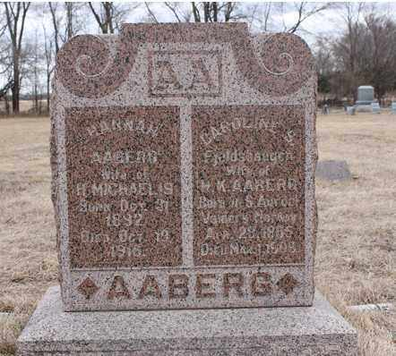 AABERG, CAROLINE S - Stanton County, Nebraska | CAROLINE S AABERG - Nebraska Gravestone Photos