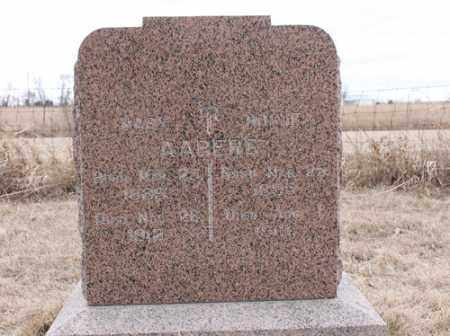 AABERG, MARY - Stanton County, Nebraska | MARY AABERG - Nebraska Gravestone Photos
