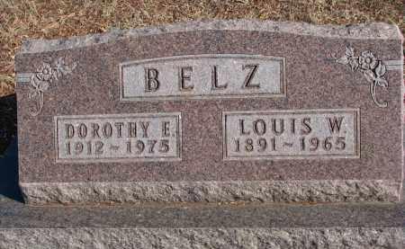 BELZ, DOROTHY E. - Stanton County, Nebraska | DOROTHY E. BELZ - Nebraska Gravestone Photos