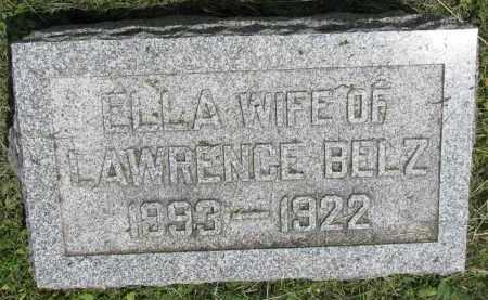 BELZ, ELLA - Stanton County, Nebraska | ELLA BELZ - Nebraska Gravestone Photos