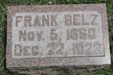 BELZ, FRANK - Stanton County, Nebraska   FRANK BELZ - Nebraska Gravestone Photos