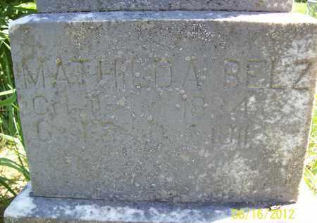BELZ, MATHILDA - Stanton County, Nebraska   MATHILDA BELZ - Nebraska Gravestone Photos