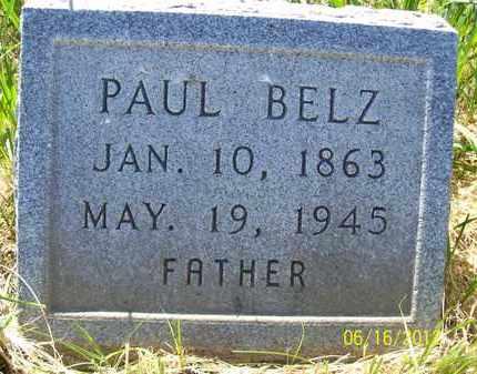 BELZ, PAUL - Stanton County, Nebraska | PAUL BELZ - Nebraska Gravestone Photos